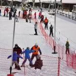 Stacja narciarska Szwajcaria Bałtowska - wyciąg orczykowy