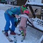 Wypinanie nart - lekcja z Amigo-Ski w Szwajcaria Bałtowska