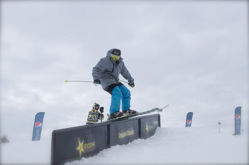 Poręcz spadowa - Snowpark