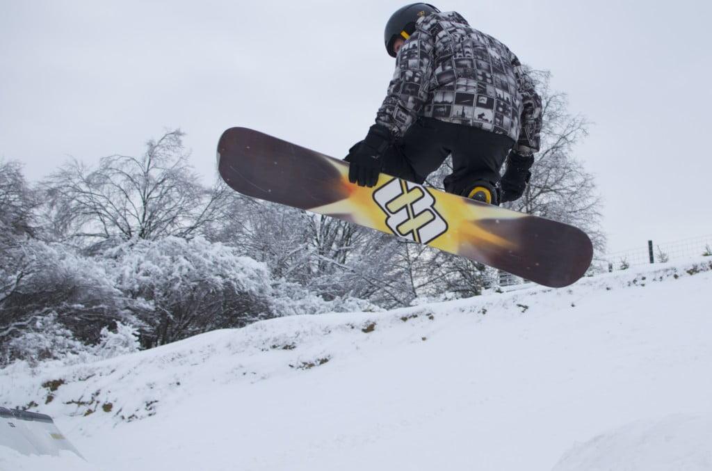 Snowpark  - warsztaty freestyle