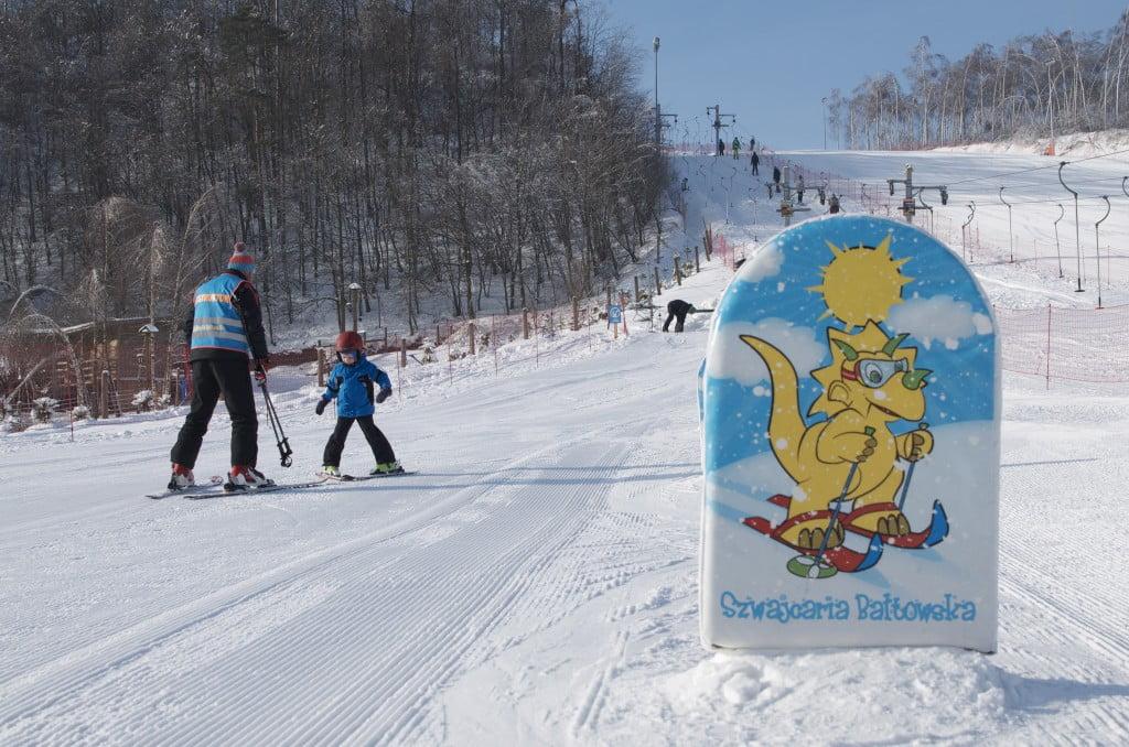 Nauka jazdy na nartach z Amigo-Ski - Szwajcaria Bałtowska