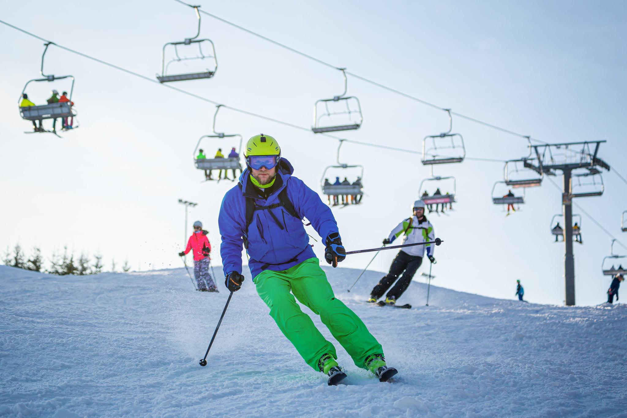 Szkoła narciarska - jazda na nartach