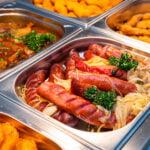 gorący bufet w Bałtowskim Zapiecku